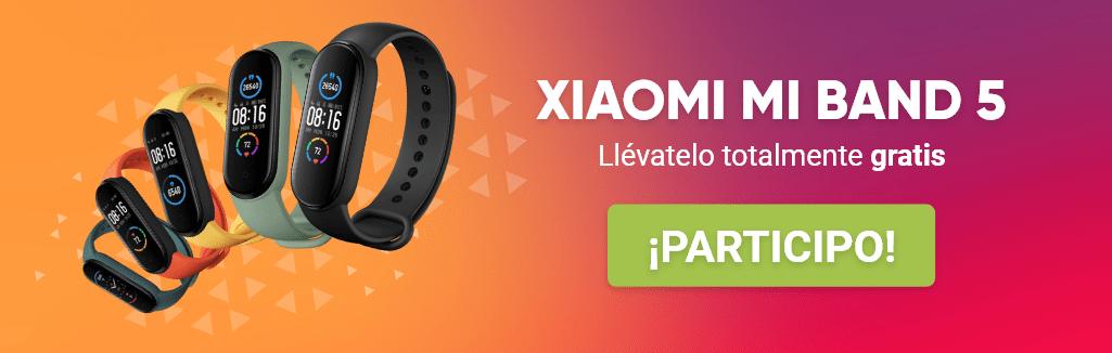 Reloj Fit Bit Xiaomi  Mi Band 5