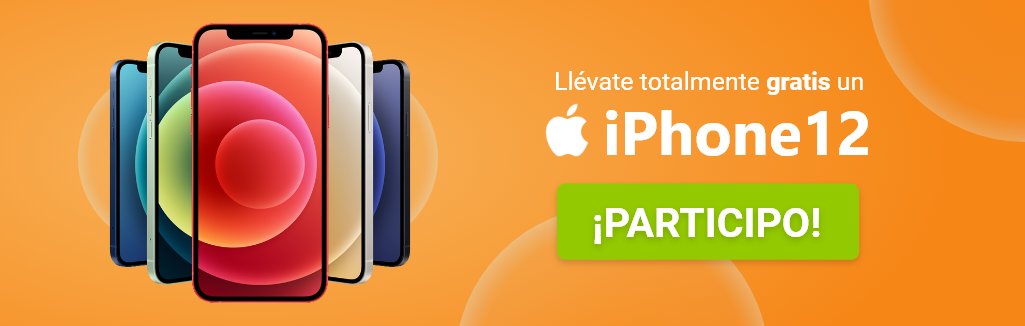 Llévate un iPhone 12 gratis